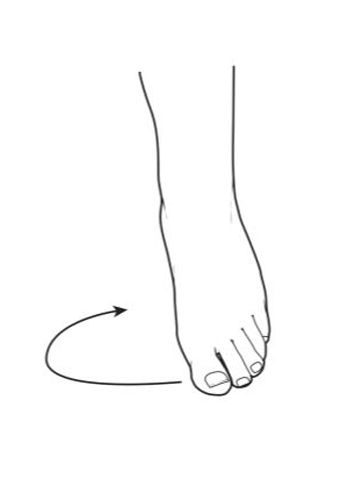 ankle range of motion - foot & ankle recovery exercise