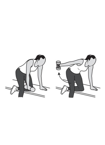 trapezius - shoulder recovery exercise